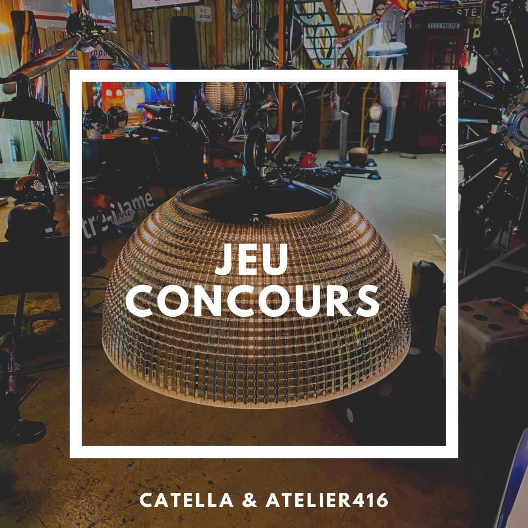 JEU CONCOURS CATELLA & ATELIER416