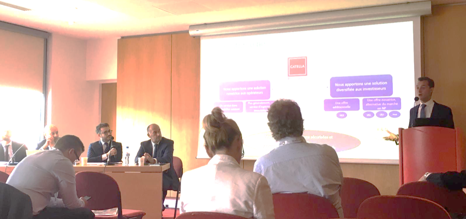 Lancement de Catella Patrimoine lors du salon de Patrimonia le 26 septembre 2019